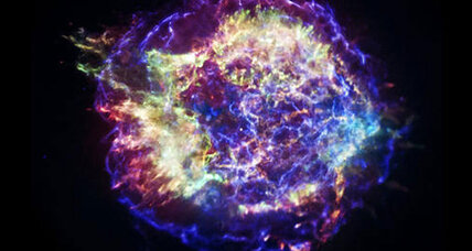 Bizarre supernova filled with bubbles, say scientists