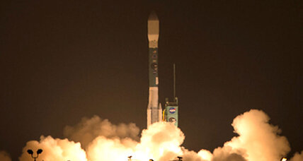 NASA's dirt-watching satellite in orbit after 'spectacular' launch
