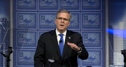 Why Detroit? The meaning of Jeb Bush's first 2016 speech. (+video)