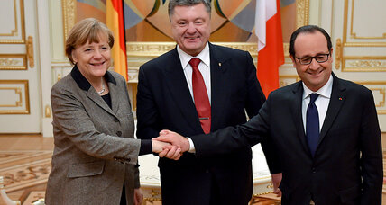 Will Putin buy into Merkel and Hollande's Ukraine peace plan?