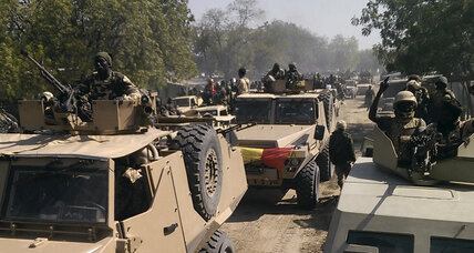 Nigerian military recovers weapons stolen by Boko Haram