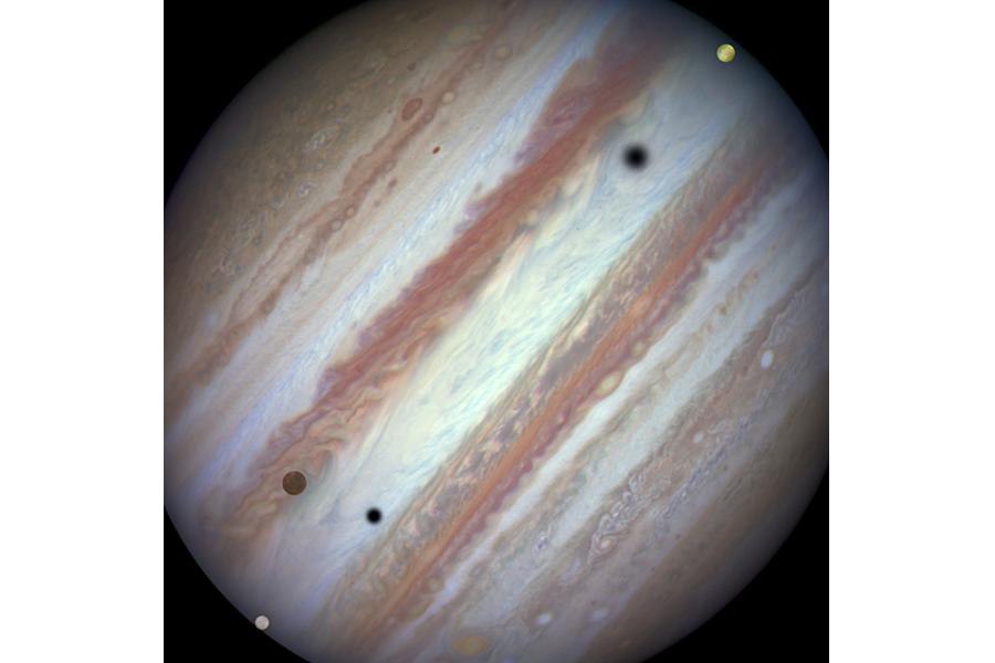 jupiter moons hubble - photo #18
