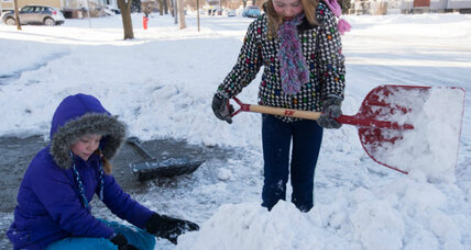 #ShovelItForward: Kindness crossing borders?