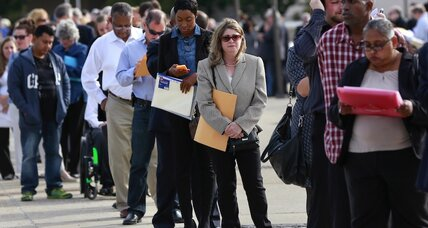 Unemployment rate rises to 5.7 percent. That's great news.