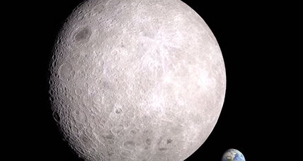 NASA releases amazing video of moon's far side (+video)