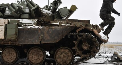 Kiev, rebels both claim gains on eve of Ukraine peace talks