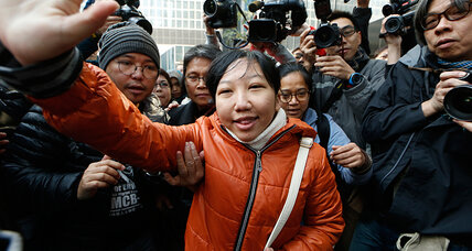 Hong Kong conviction for maid abuse spotlights global rights battle (+video)