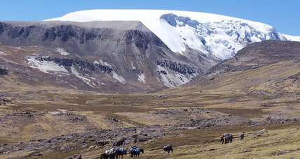 Andean ice cap yields signs of 16th-century pollution