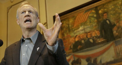 In blue state Illinois, can union-curbing measures by GOP governor succeed?