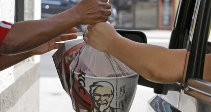 KFC tries its hand at burgers