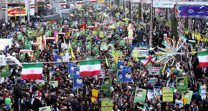 Iran marks Islamic Revolution anniversary with massive rallies, amid nuke talks