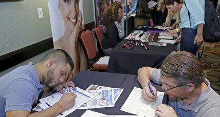 Surprise! Jobless claims jumped by 25,000 last week.