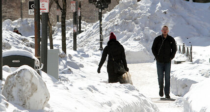 New Englanders, still digging out, brace for another major snowstorm
