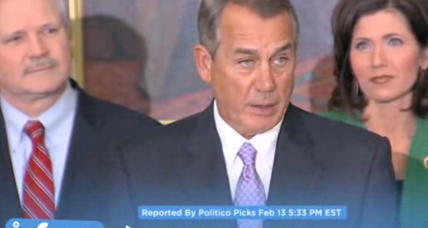 Boehner willing to let Homeland Security funding lapse
