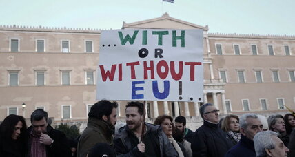 Over 15,000 rally to reject Greece's bailout terms