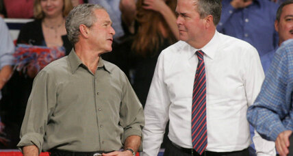 Jeb Bush to lay out foreign policy: Will he be dad, brother – or himself? (+video)