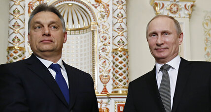 Putin takes 'Russia still has friends' tour to Hungary
