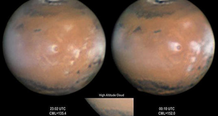 Spotted by hobbyists, bizarre plumes on Mars baffle scientists