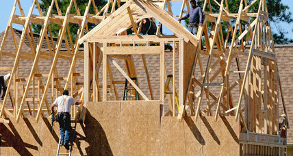 US housing starts fall in January, but construction is speeding up (+video)