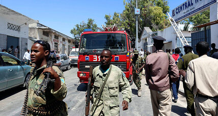 Two suicide bombings at Somalia hotel kills at least 4, wounds many
