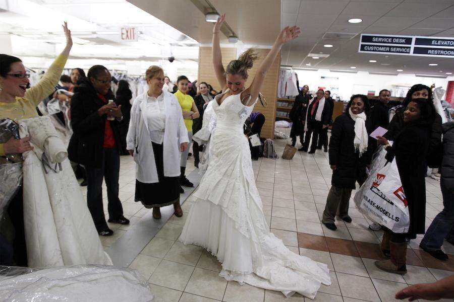 How To Buy A Cheap Yet Fabulous Wedding Dress Csmonitor