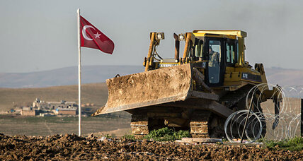 Why did the Turkish military storm into Syria? (+video)