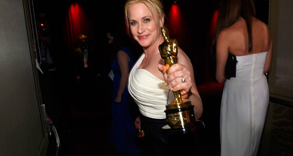 Patricia Arquette fights for gender pay equity at the Oscars