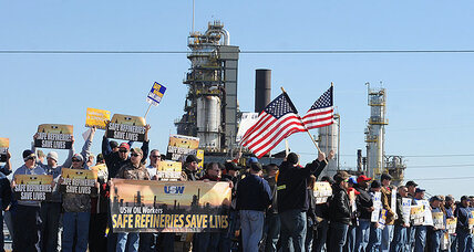 Oil refinery strike spreads across US