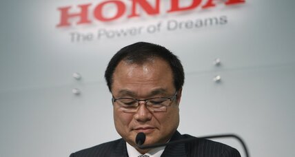 Honda CEO steps down following airbag fiasco