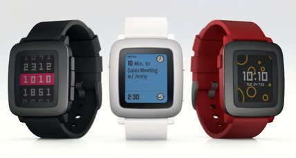 Pebble returns to Kickstarter with full-color smart watch