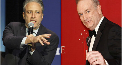 Is Jon Stewart actually defending Bill O'Reilly? (+video)