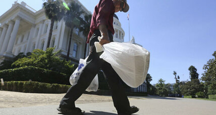 California plastic bag ban on hold pending 2016 vote (+video)