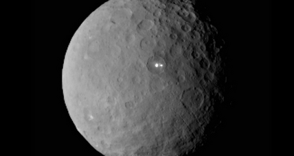 Mysterious bright spot on Ceres actually two bright spots