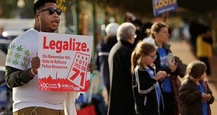 DC joins states legalizing marijuana: How it's different in the nation's capital (+video)