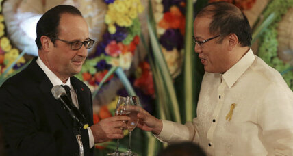France offers the Philippines 50 million euros for climate action