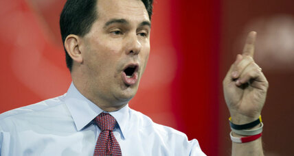 Did Scott Walker really compare liberal protesters to terrorists?