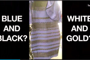 Dresses color illusions pictures of faces