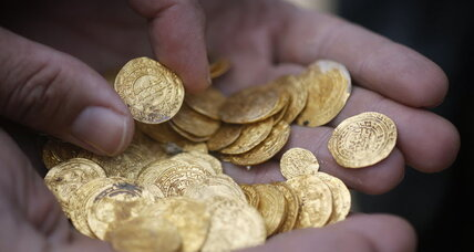 Sunken treasure? Divers stumble upon priceless ancient gold.