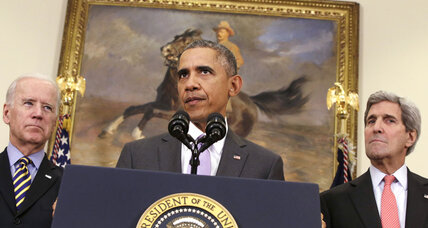 President Obama asks Congress to authorize military action against ISIS