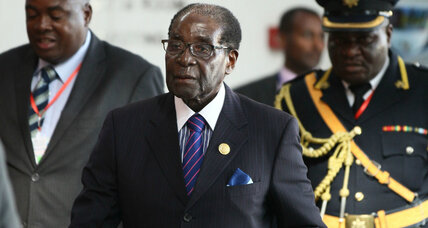 For Mugabe, term as African Union chief could salvage a tarnished legacy