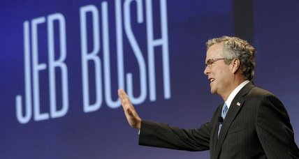 It's OK, Jeb. Mom says you can run for president.