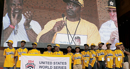 Why was Jackie Robinson West stripped of US title?