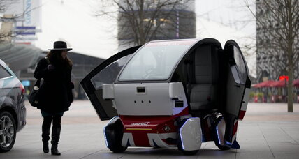 UK gives driverless cars the green light