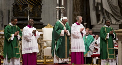Pope Francis urges Catholics to 'accept the marginalized'