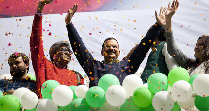 In India, a clean sweep for honest governance