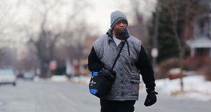 Why this Detroit man doesn't have to walk 21 miles roundtrip to work anymore (+video)