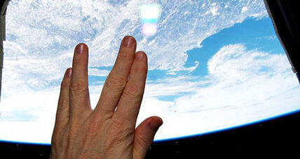 A sign from space: Live long and prosper, Leonard Nimoy