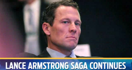 Lance Armstrong lets girlfriend take blame for hit-and-run crash (+video)
