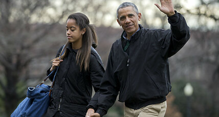 Malia Obama goes college hunting: Following in her father's footsteps?