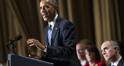 At prayer breakfast, Obama condemns those who seek to 'hijack religion'
